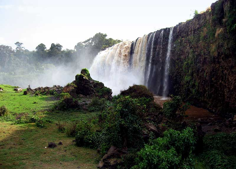Cascate del Nilo Azzurro - Dopo le cascate, seguendo la ...