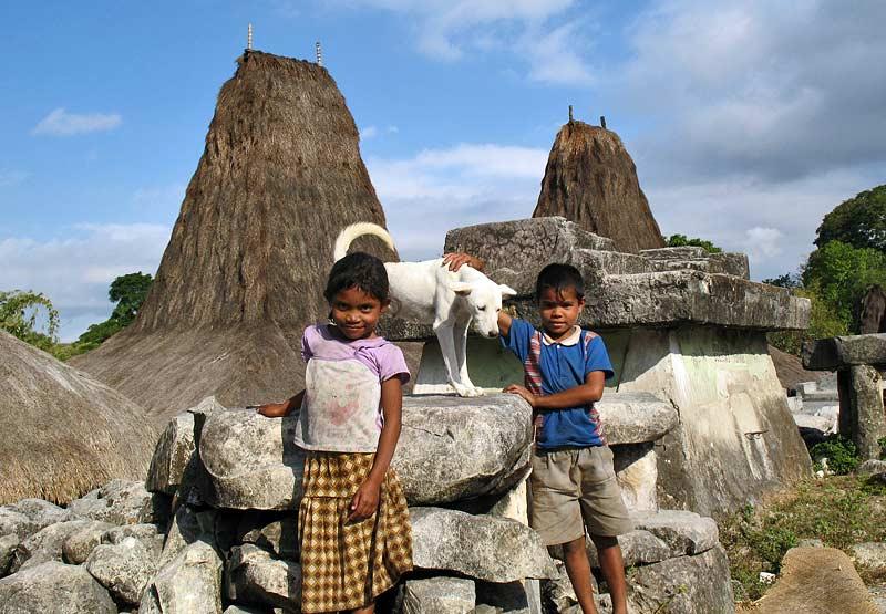 Waikabubak sul tetto della casa i simboli del capo clan for Creatore della mappa della casa