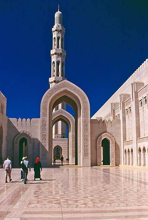 Muscat Oman La grande Moschea
