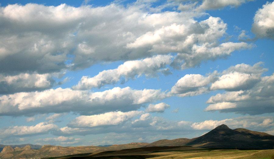 Sucuali: nuvole - Belle nuvole sopra i tranquilli paesaggi ...