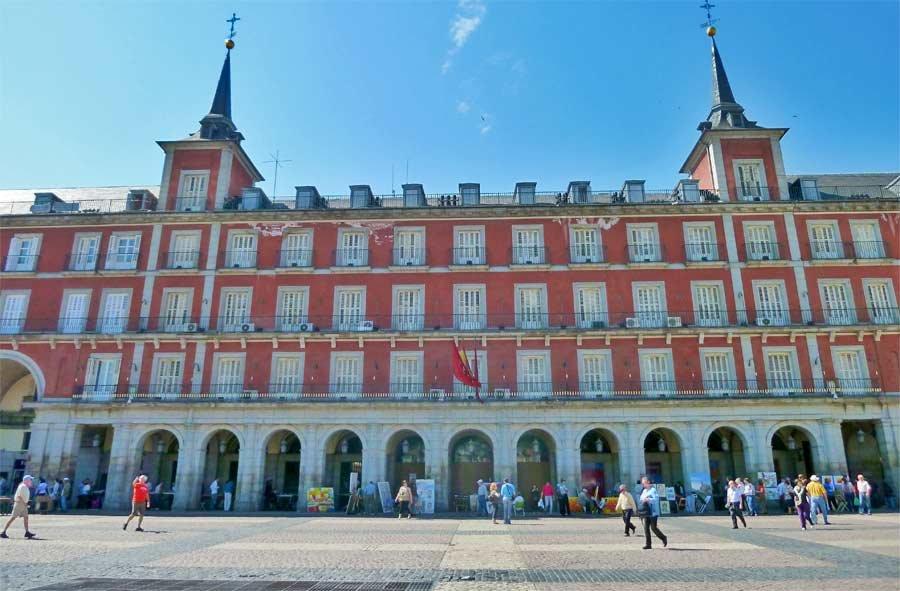Casa de la carniceria lato sud della plaza mayor di - Carniceria en madrid ...