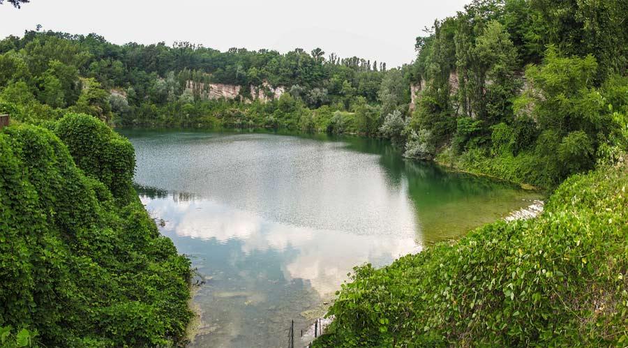 Baggero oasi laghetto nord laghetto artificiale for Laghetto artificiale