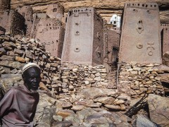 Bandiagara: la falesia