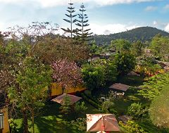 Arusha: giardino dell'hotel