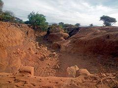 Mangola: erosione