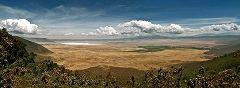 Ngorongoro: vista da SE