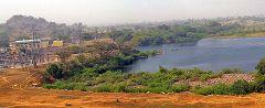 Diga fiume Benouè e lago Lagdo