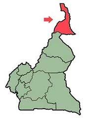 Mappa Camerun