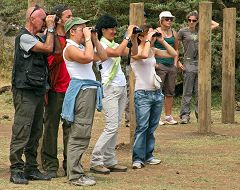 Il gruppo al Manyara