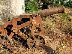 Bolama: cannone