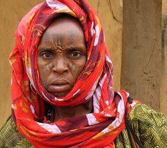 Donna di etnia Fulbe