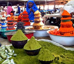 Maroua: mercato