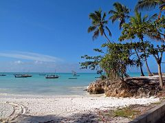 Zanzibar: Mwanda - spiaggia