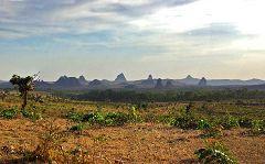 Rhumsiki: vista sulla monument valley
