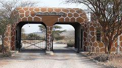 Archer's gate (east gate) at Samburu