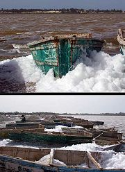 Dakar: Lago Rosa