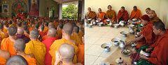 Rangamati: bonzi
