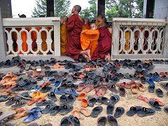 Rangamati: ciabatte