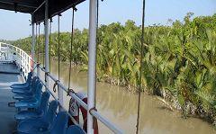 Sundarbans: navigazione
