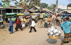 Tangail: traffico