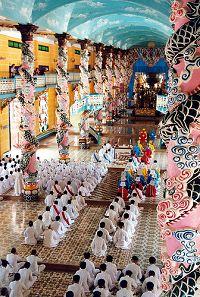 Tempio Caodista di Tay Ninh