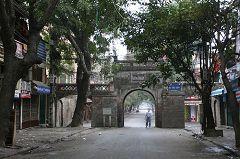 La porta di Quan Chuong