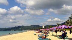 La spiaggia di Karon