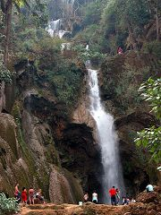Le cascate del Kuang Si