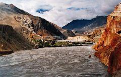 Chhukgaon: vista