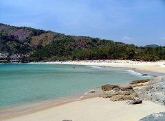 La spiaggia di Nai Harn