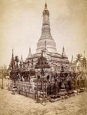 Prome: pagoda Shwesandaw