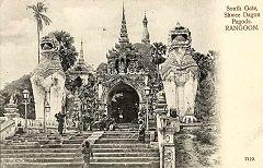 Rangoon - Shwedagon Pagoda