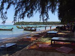 La spiaggia di Rawai