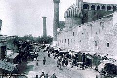Samarcanda: Piazza Registan