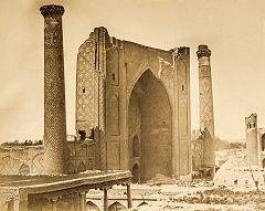 Samarcanda: Ulugh-Beg - madrasa
