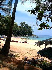La spiaggia di Surin