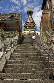 Swayambhunath (scalinata)
