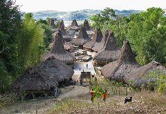 Waikabubak: villaggio
