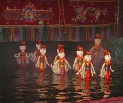 Il water puppet show (Mua Roi Nuoc)