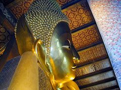 Wat Po, il Buddha sdraiato (Bangkok)