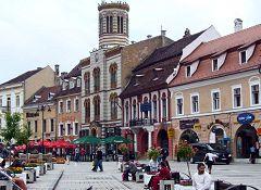 Brasov: piazza