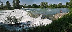 Roccafranca: cascata dell'Oglio