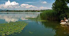 Comabbio: vista sul lago