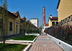 Fara Gera d'Adda: villaggio Italcementi