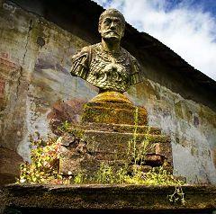 Villa Litta: busto Filippo II