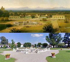 Villa Litta: fontana di Galatea