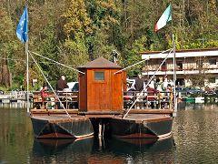 Imbersago: traghetto di Leonardo