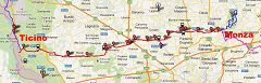 Ciclabile Villoresi verso Ovest (verso il Ticino)