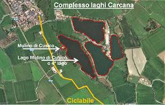 San Pietro Cusico: laghetti Carcana