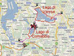 Ciclabili dei laghi di Varese e Comabbio